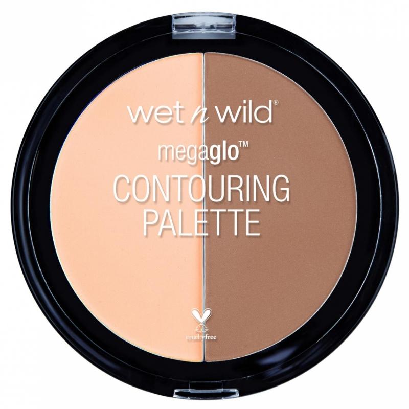 Wet n Wild Megaglo Contouring Palette ryhmässä Meikit / Poskipäät / Contouring at Bangerhead.fi (B050796r)