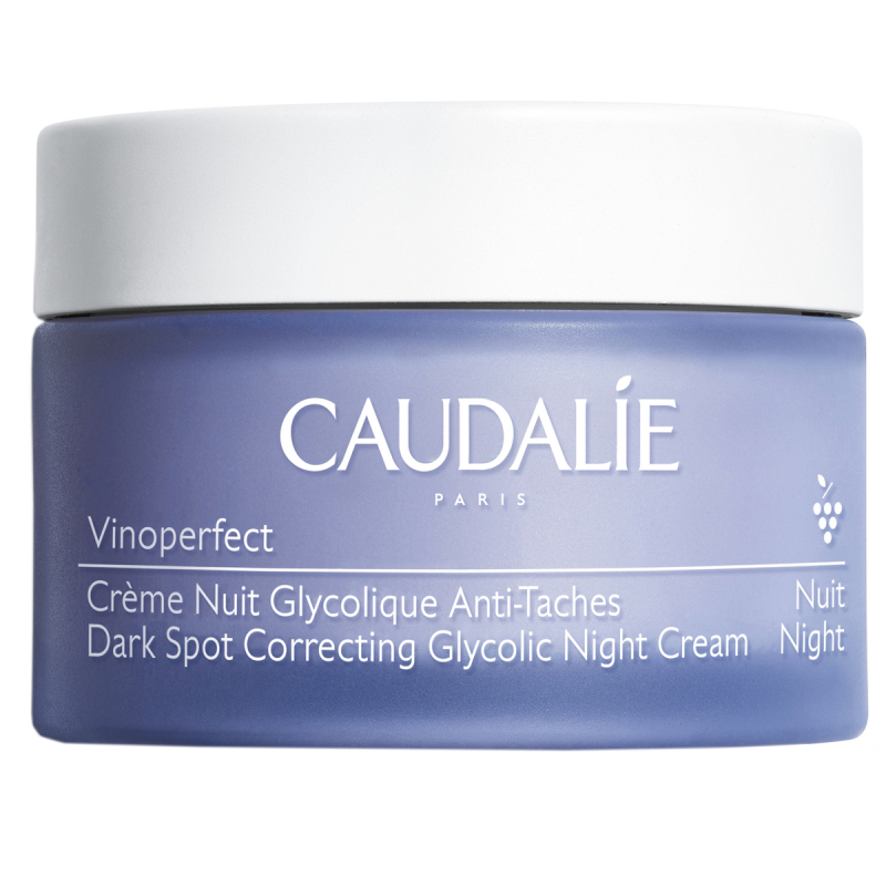 Caudalie Dark Spot Correcting Glycolic Night Cream (50ml) i gruppen Hudpleie / Fuktighetskrem / Nattkrem hos Bangerhead.no (B051042)