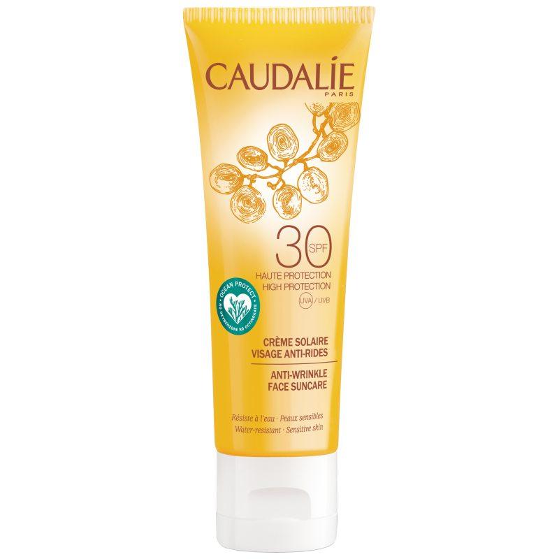 Caudalie Anti-Wrinkle Face Suncare SPF30 (50ml) i gruppen Hudvård / Sol & tan för ansikte / Solskydd för ansikte hos Bangerhead (B051043)
