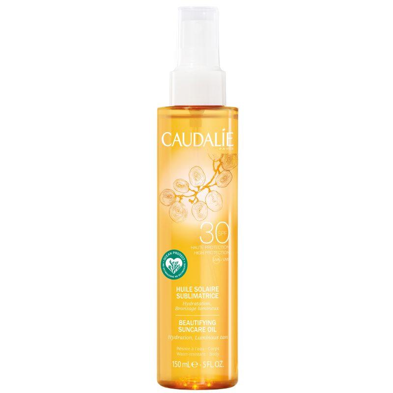 Caudalie Beautifying Suncare Oil SPF 30 (150ml) ryhmässä Vartalonhoito  / Aurinkotuotteet vartalolle / Aurinkoöljyt at Bangerhead.fi (B051047)