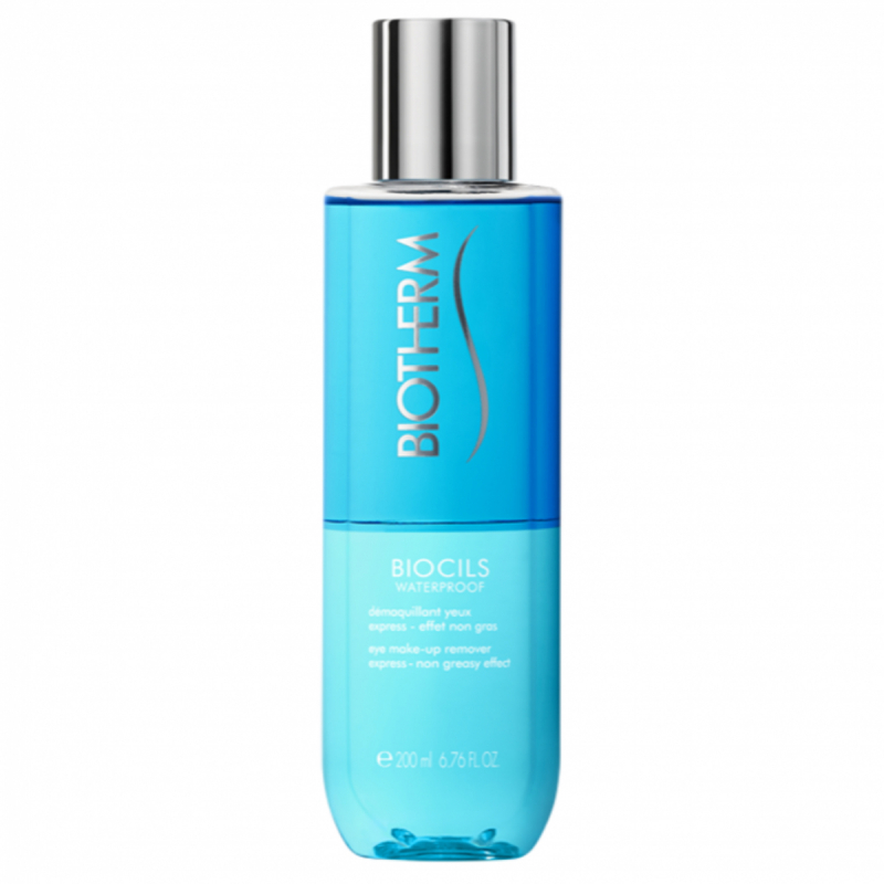 Biotherm Biocils Waterproof Makeup Remover (200ml) i gruppen Hudvård / Ansiktsrengöring / Sminkborttagning hos Bangerhead (B051088)