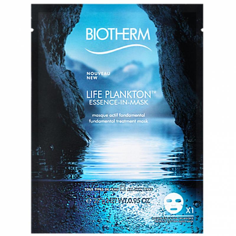 Biotherm Life Plankton Essence Sheet Mask ryhmässä Ihonhoito / Kasvonaamiot / Kangasnaamiot at Bangerhead.fi (B051116)