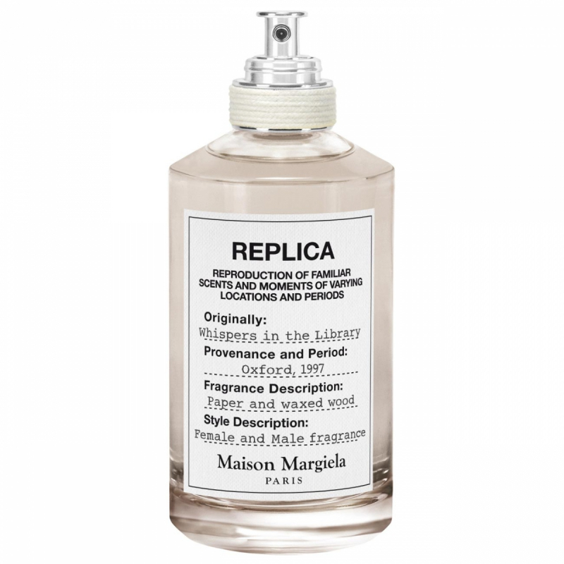 Maison Margiela Replica Whispers In The Library EdT (100ml) i gruppen Parfym / Unisex / Eau de Toilette Unisex hos Bangerhead (B051125)