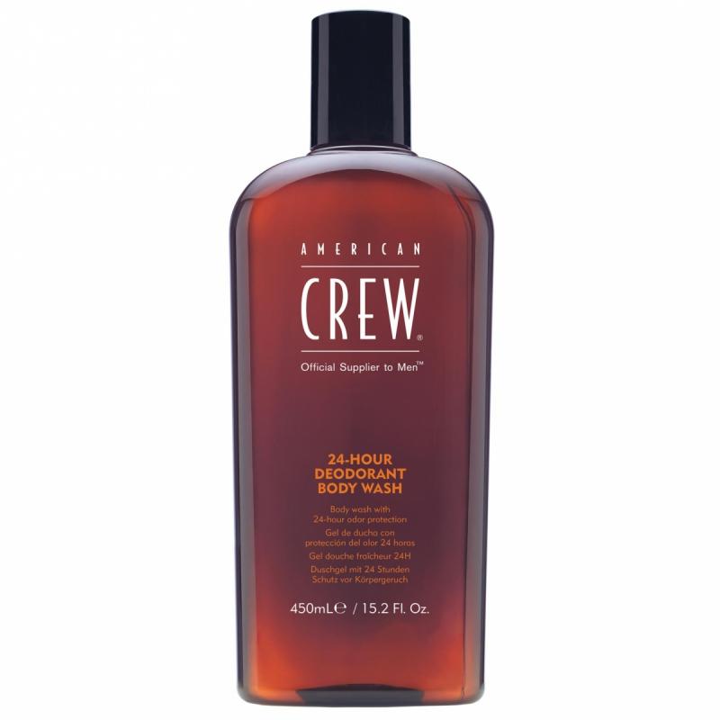 American Crew 24 Hour Deodorant Body Wash (450ml) ryhmässä Vartalonhoito & spa / Vartalon puhdistus / Kylpysaippuat & suihkusaippuat at Bangerhead.fi (B051152)
