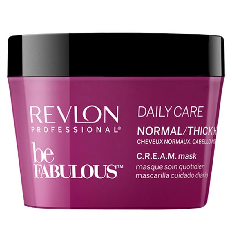 Revlon Professional Be Fabulous Normal/Thick Cream Mask (200ml) ryhmässä Hiustenhoito / Hiusnaamiot ja hoitotuotteet / Naamiot at Bangerhead.fi (B051202)