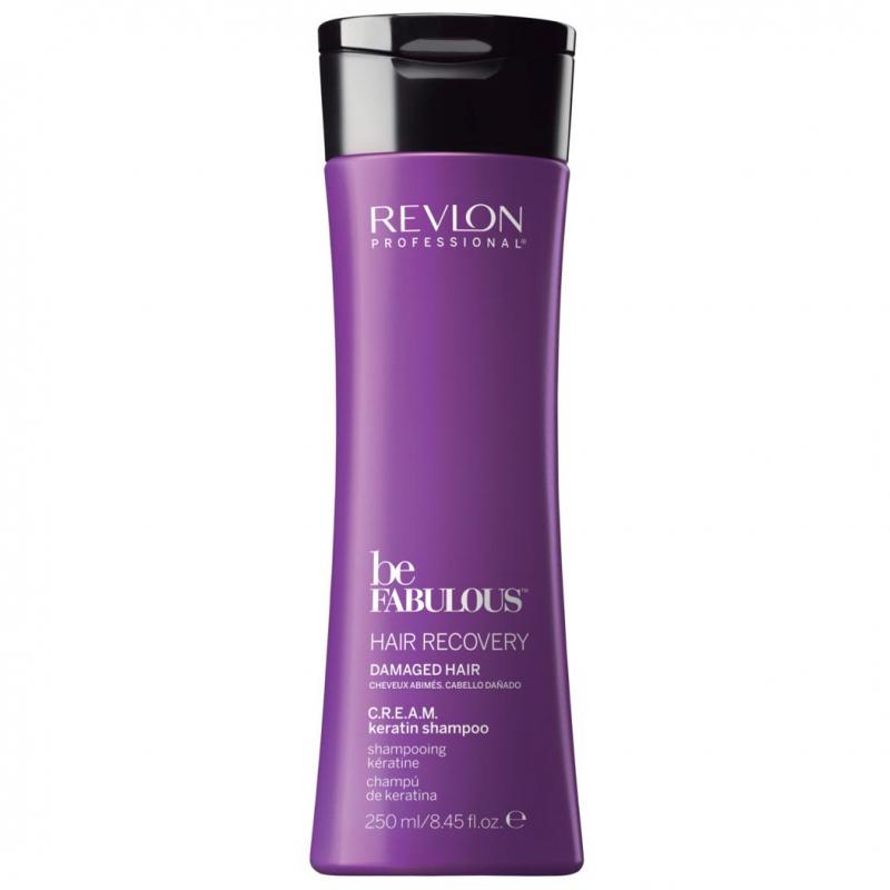 Revlon Professional Be Fabulous Recovery Cream Shampoo (250ml) ryhmässä Hiustenhoito / Shampoot & hoitoaineet / Shampoot at Bangerhead.fi (B051204)