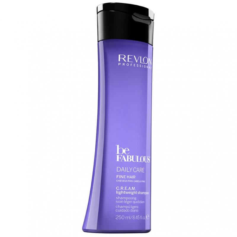 Revlon Professional Be Fabulous Fine Cream Shampoo (250ml) ryhmässä Hiustenhoito / Shampoot / Shampoot at Bangerhead.fi (B051207)