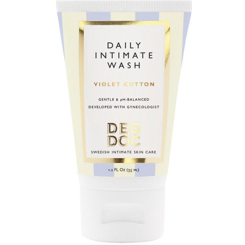 DeoDoc Daily Intimate Wash Violet Cotton (35ml) ryhmässä Vartalonhoito & spa / Vartalon puhdistus / Intiimituotteet at Bangerhead.fi (B051248)