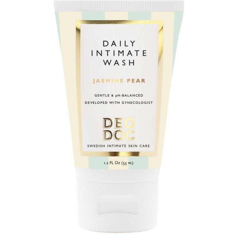 DeoDoc Daily Intimate Wash Jasmine Pear (35ml) ryhmässä Ihonhoito / Intiimituotteet at Bangerhead.fi (B051249)
