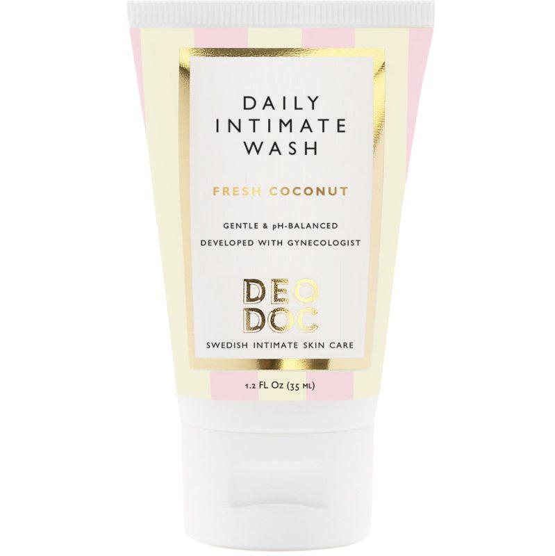 DeoDoc Daily Intimate Wash Fresh Coconut (35ml) i gruppen Kroppsvård & spa / Kroppsrengöring / Intimprodukter hos Bangerhead (B051250)
