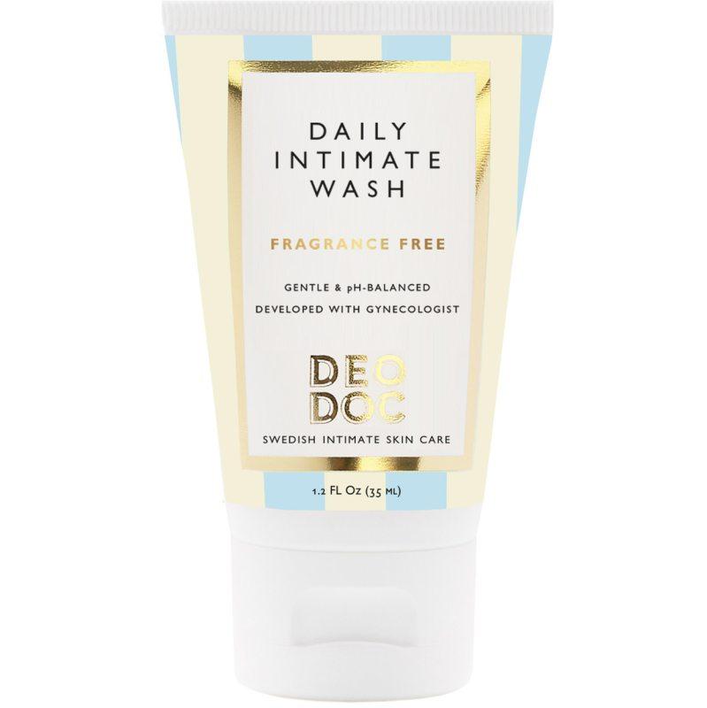 DeoDoc Daily Intimate Wash Fragrance Free (35ml) ryhmässä Vartalonhoito & spa / Vartalon puhdistus / Intiimituotteet at Bangerhead.fi (B051251)