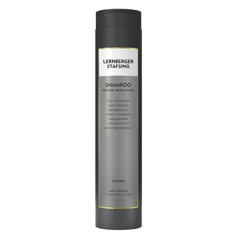 Lernberger Stafsing Mr Shampoo For Hair. Beard & Body (250ml) ryhmässä Miehet / Hiustenhoito miehille / Muotoilutuotteet miehille at Bangerhead.fi (B051301)