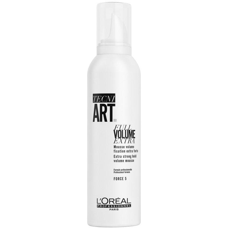 L'Oréal Professionnel Tecni Art Full Volume Extra (250ml) ryhmässä Hiustenhoito / Muotoilutuotteet / Muotoiluvaahdot at Bangerhead.fi (B051405)