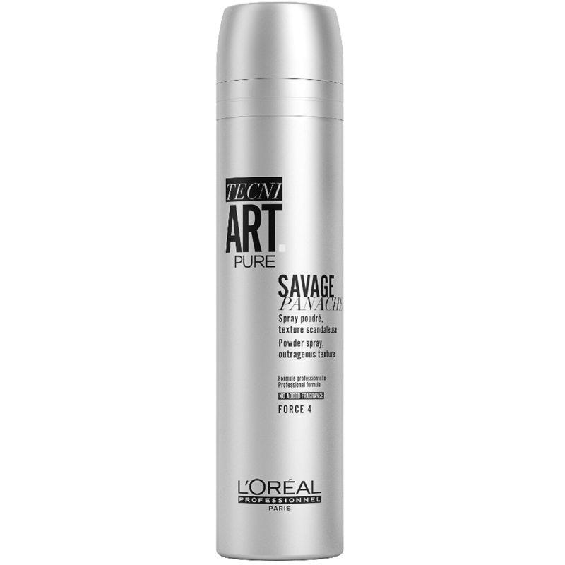 L'Oréal Professionnel Tecni Art Savage Panache Pure (250ml) ryhmässä Hiustenhoito / Muotoilutuotteet / Hiuspuuteri at Bangerhead.fi (B051412)