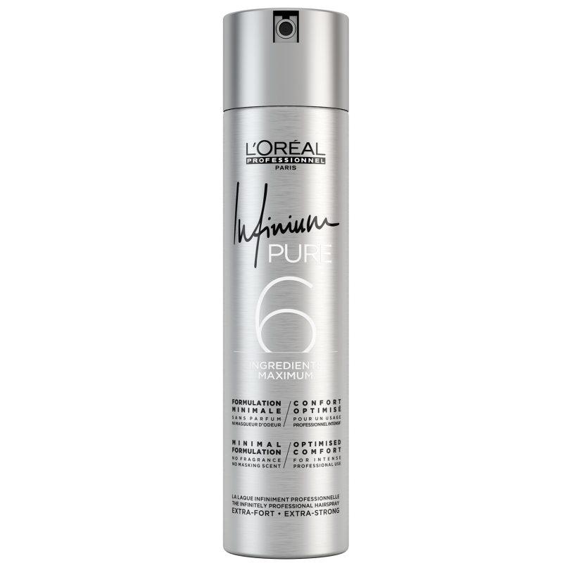 L'Oréal Professionnel Infinium Soft Pure (300ml) ryhmässä Hiustenhoito / Muotoilutuotteet / Hiuslakat at Bangerhead.fi (B051413)