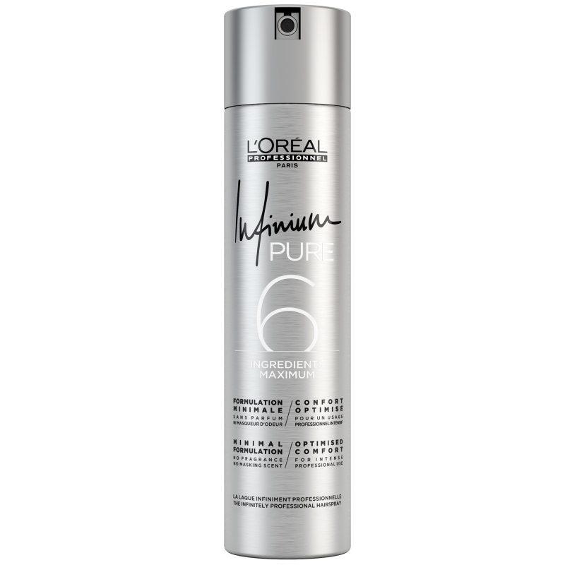 L'Oréal Professionnel Infinium Strong Pure (300ml) ryhmässä Hiustenhoito / Muotoilutuotteet / Hiuslakat at Bangerhead.fi (B051414)