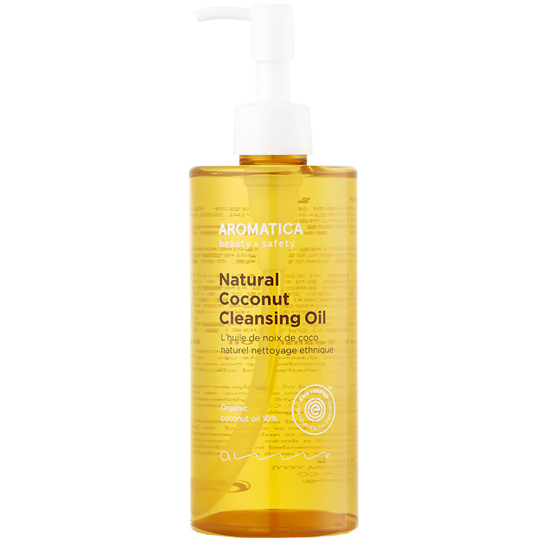 Aromatica Natural Coconut Cleansing Oil (300ml) i gruppen K-Beauty / Skincare step 1-10 / Step 1 - Oil Cleanser / Makeup hos Bangerhead (B051439)