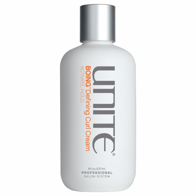 Unite Boing Moisture Curl Cream (236ml) ryhmässä Hiustenhoito / Muotoilutuotteet / Muotoilutuotteet kiharoille at Bangerhead.fi (B051513)