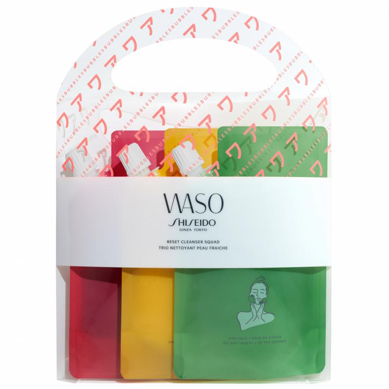Shiseido Waso Reset Cleanser Squad (3x70ml) i gruppen Hudpleie / Gaver og hudpleiesett / Gift sets hos Bangerhead.no (B051698)