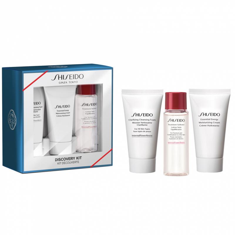 Shiseido Essential Energy Discovery Kit ryhmässä Ihonhoito / Lahjapakkaukset & setit / Lahjapakkaukset at Bangerhead.fi (B051716)