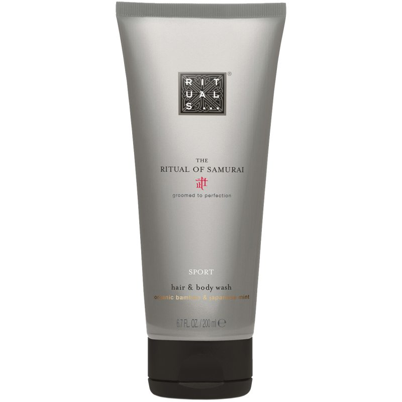 Rituals The Ritual of Samurai Hair & Body Wash (200ml) i gruppen Man / Kroppsvård / Showergel hos Bangerhead (B051961)