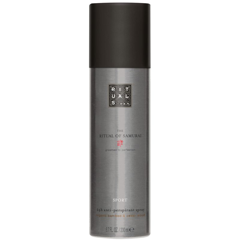 Rituals The Ritual of Samurai Anti-Perspirant Spray Sport (200ml) ryhmässä Editor's choice /  /  at Bangerhead.fi (B051966)