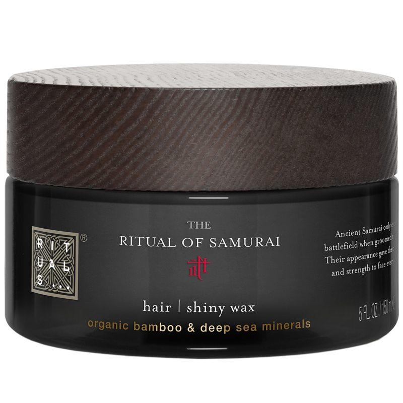 Rituals The Ritual of Samurai Shiny Hair Wax (150ml) ryhmässä Miehet / Hiustenhoito miehille / Muotoilutuotteet miehille at Bangerhead.fi (B051970)