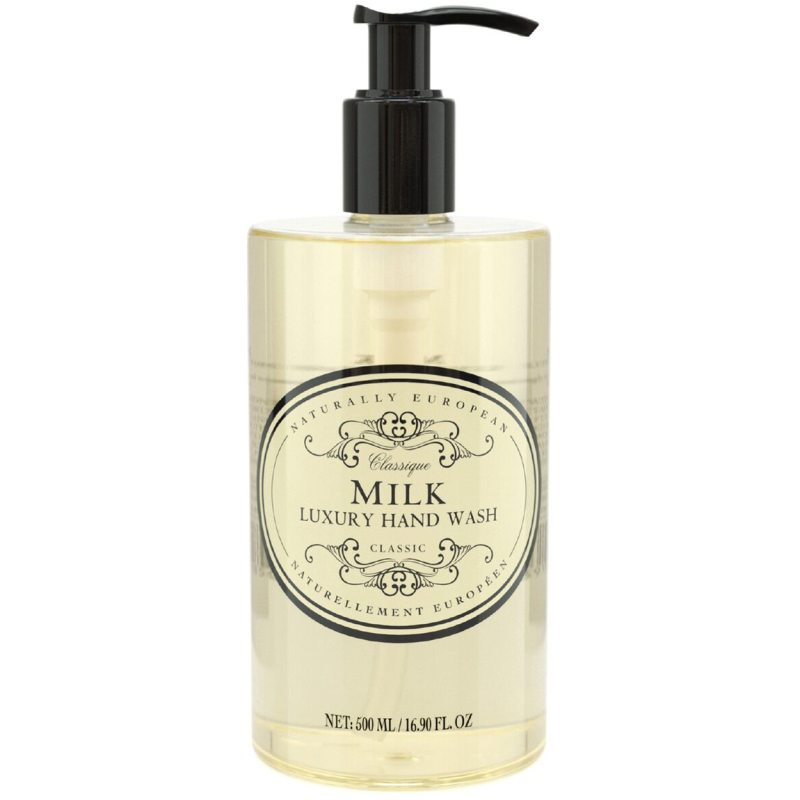 Naturally European Hand Wash Milk Cotton (500ml) i gruppen Kroppsvård & spa / Händer & fötter / Handtvål hos Bangerhead (B052014)