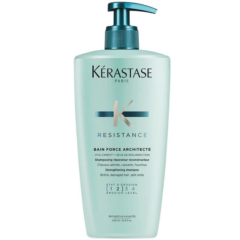 Kérastase Resistance Bain Force Architecte (500ml) i gruppen Hårpleie / Shampoo  / Shampoo hos Bangerhead.no (B052031)