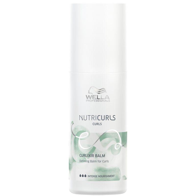 Wella Nutricurls Curlixir Balm Defining Balm For Curls (150ml) ryhmässä Hiustenhoito / Hoitoaineet / Leave-in-hoitoaineet at Bangerhead.fi (B052078)