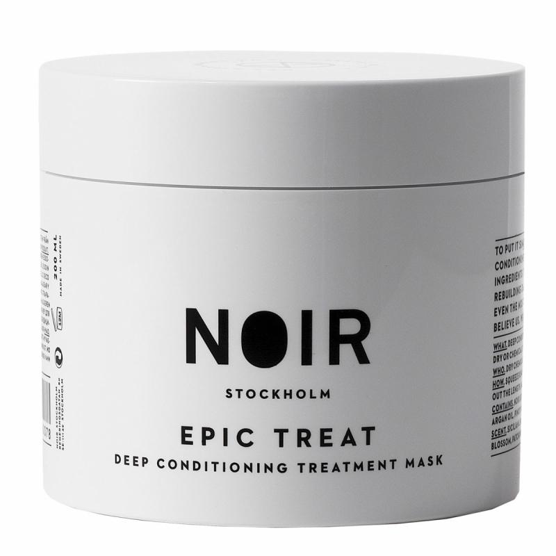 Noir Stockholm Epic Treat Deep Conditioner (200ml) ryhmässä Hiustenhoito / Hiusnaamiot ja hoitotuotteet / Naamiot at Bangerhead.fi (B052109)