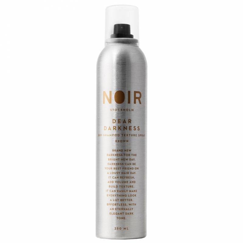Noir Stockholm Dear Darkness Dry Shampoo (250ml) ryhmässä Hiustenhoito / Shampoot & hoitoaineet / Kuivashampoot at Bangerhead.fi (B052114)