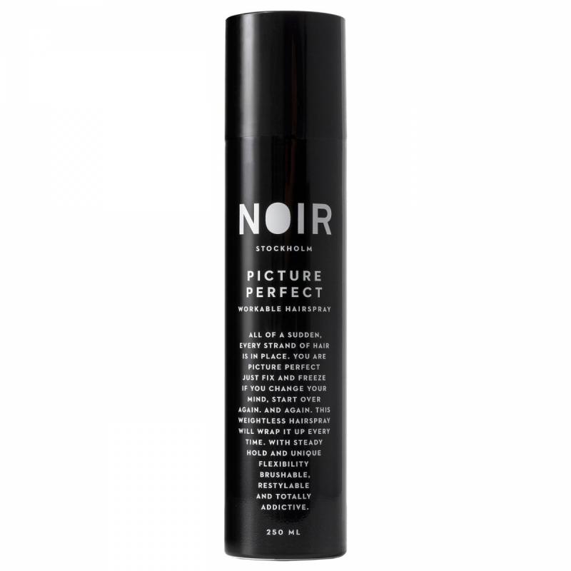 Noir Stockholm Picture Perfect Finishing Spray (250ml) ryhmässä Hiustenhoito / Muotoilutuotteet / Hiuslakat at Bangerhead.fi (B052117)