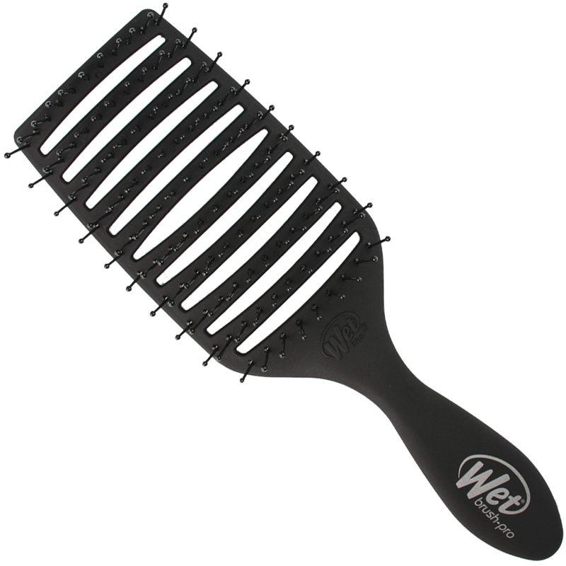 Wet brush Epic Pro Quick Dry Black  ryhmässä Hiustenhoito / Hiusharjat & tarvikkeet / Hiusharjat at Bangerhead.fi (B052242)