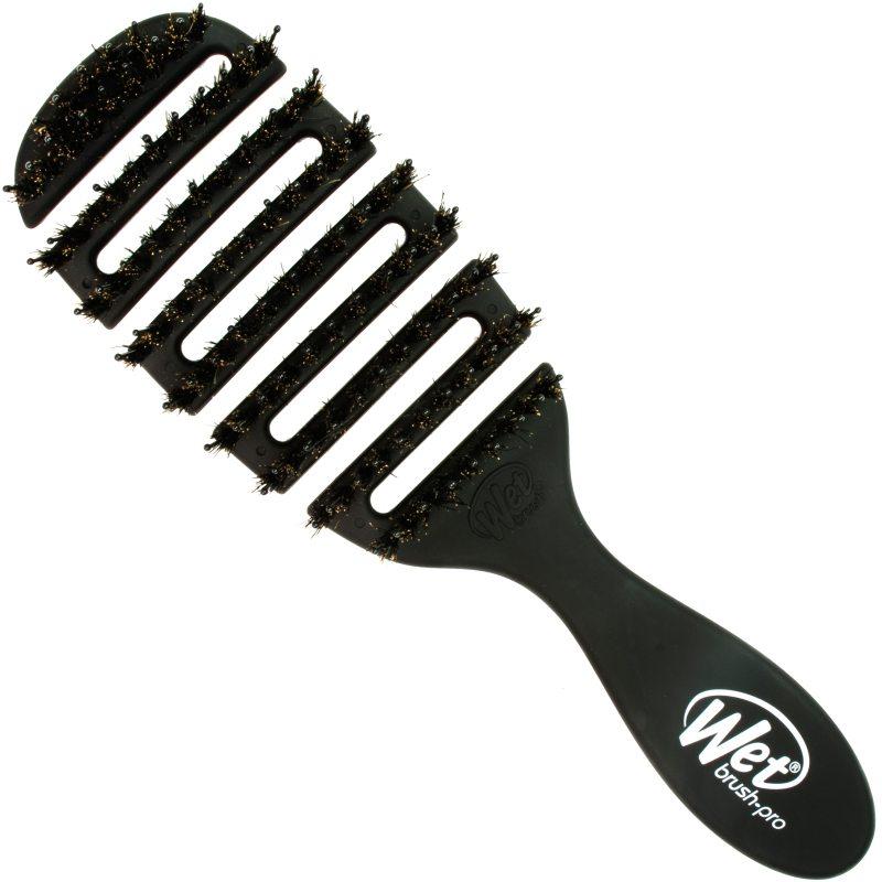 Wet brush Flex Dry Shine Enhancer Black  ryhmässä Hiustenhoito / Hiusharjat & tarvikkeet / Hiusharjat at Bangerhead.fi (B052246)