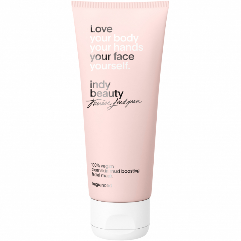 Indy Beauty Clear Skin Mud Boosting Facial Mask (100ml) ryhmässä Ihonhoito / Kasvonaamiot / Geelinaamiot at Bangerhead.fi (B052319)