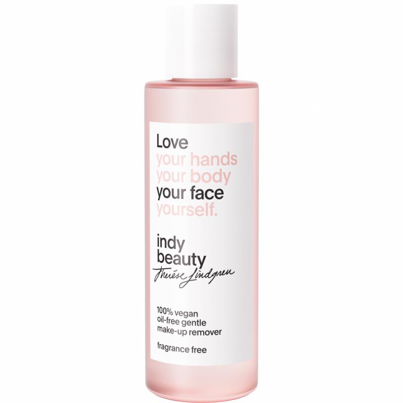 Indy Beauty Oil-Free Gentle Make-Up Remover (100ml) ryhmässä Ihonhoito / Kasvojen puhdistus / Meikinpoistoaineet at Bangerhead.fi (B052354)