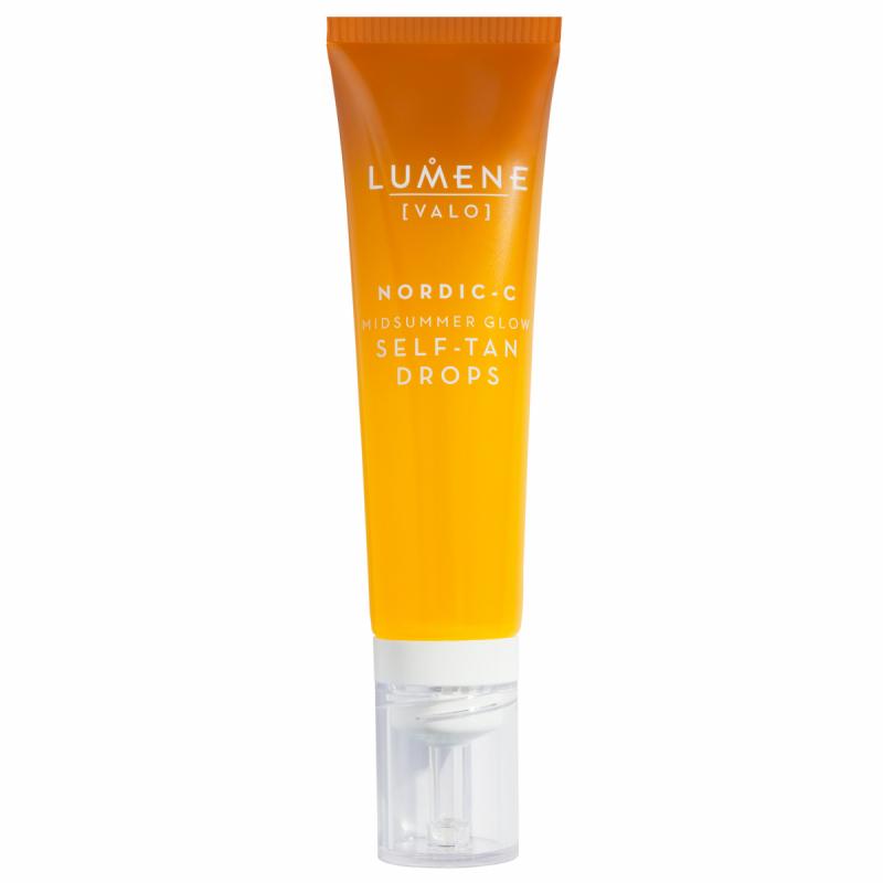 Lumene Valo Nordic-C Midsummer Glow Self-Tan Drops (30ml) i gruppen Hudvård / Sol & tan för ansikte / Brun utan sol för ansikte hos Bangerhead (B052367)