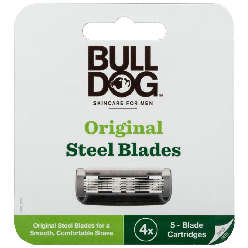 Bulldog Original Steel Blades ryhmässä Miehet / Parranajo miehille / Partahöylät ja - harjat at Bangerhead.fi (B052485)