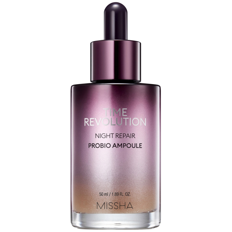 Missha Time Revolution Night Repair Borabit Ampoule (50ml) ryhmässä K-Beauty / Korealainen ihonhoitorutiini / 6. Seerumi at Bangerhead.fi (B052595)