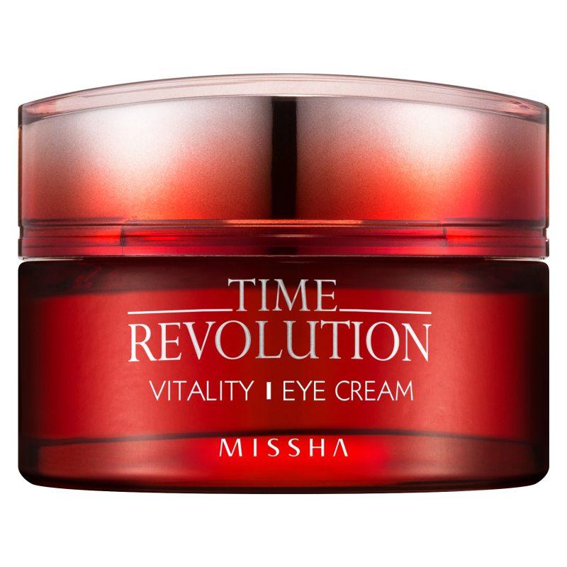 Missha Time Revolution Vitality Eye Cream (25ml)  i gruppen K-Beauty / Hudpleiesteg 1-10 / Steg 8 - Øyekrem  hos Bangerhead.no (B052603)