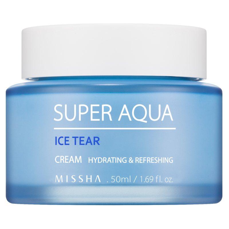 Missha Super Aqua Ice Tear Cream (50ml)  ryhmässä K-Beauty / Korealainen ihonhoitorutiini / 9. Kasvovoide at Bangerhead.fi (B052608)