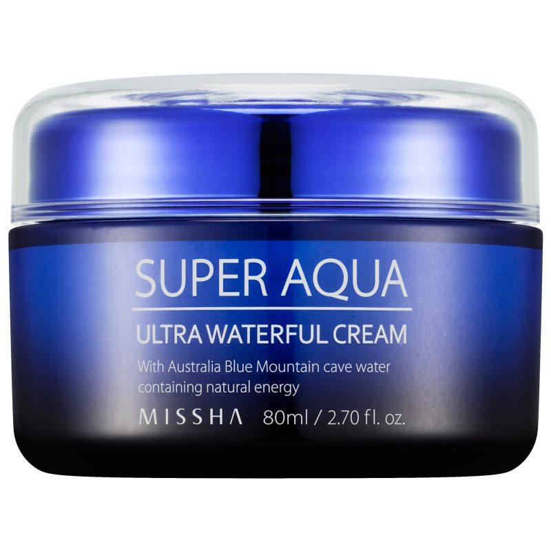 Missha Super Aqua Ultra Waterful Cream (80ml)  ryhmässä K-Beauty / Korealainen ihonhoitorutiini / 9. Kasvovoide at Bangerhead.fi (B052617)