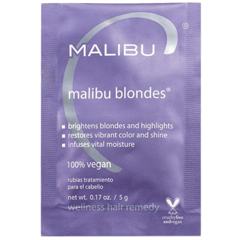 Malibu C Blondes Sachet (5g) ryhmässä Hiustenhoito / Hiusnaamiot ja hoitotuotteet / Hoitotiivisteet at Bangerhead.fi (B052637)