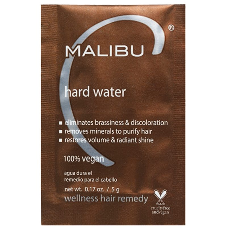 Malibu C Hard Water Sachet (5g) ryhmässä Hiustenhoito / Hiusnaamiot ja hoitotuotteet / Hoitotiivisteet at Bangerhead.fi (B052643)
