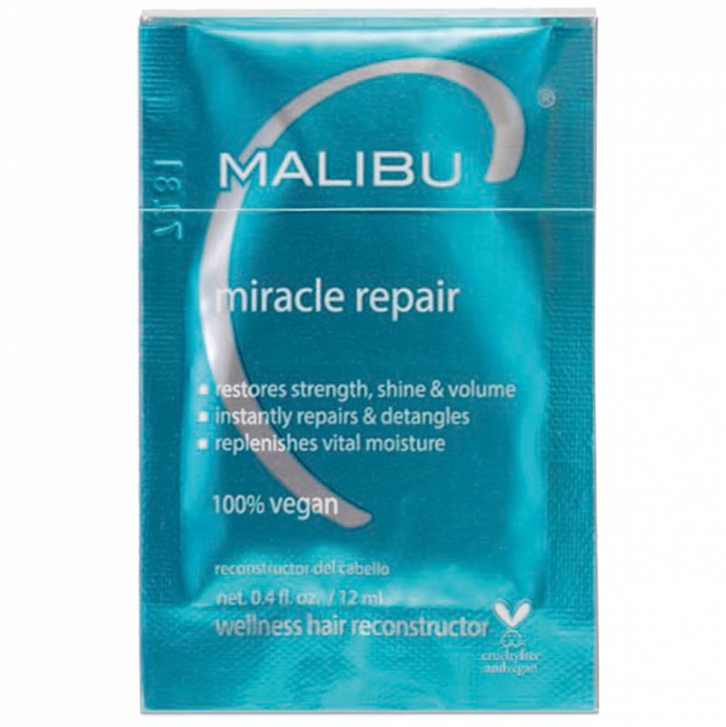 Malibu C Miracle Repair Sachet (5g) ryhmässä Hiustenhoito / Hiusnaamiot ja hoitotuotteet / Hoitotiivisteet at Bangerhead.fi (B052646)