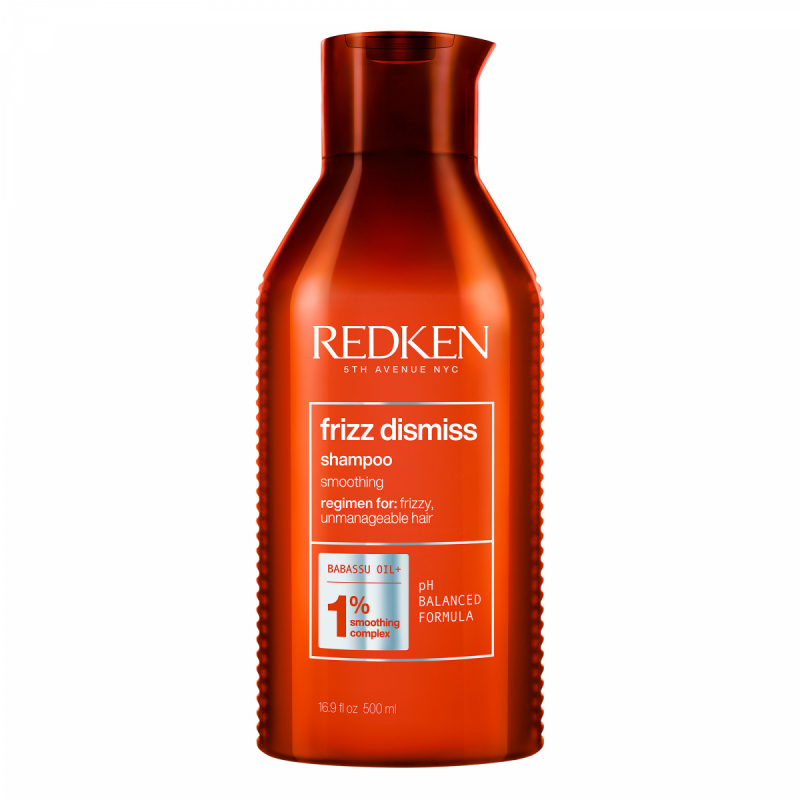 Redken Frizz Dismiss Shampoo (500ml)  ryhmässä Hiustenhoito / Shampoot & hoitoaineet / Shampoot at Bangerhead.fi (B052648)