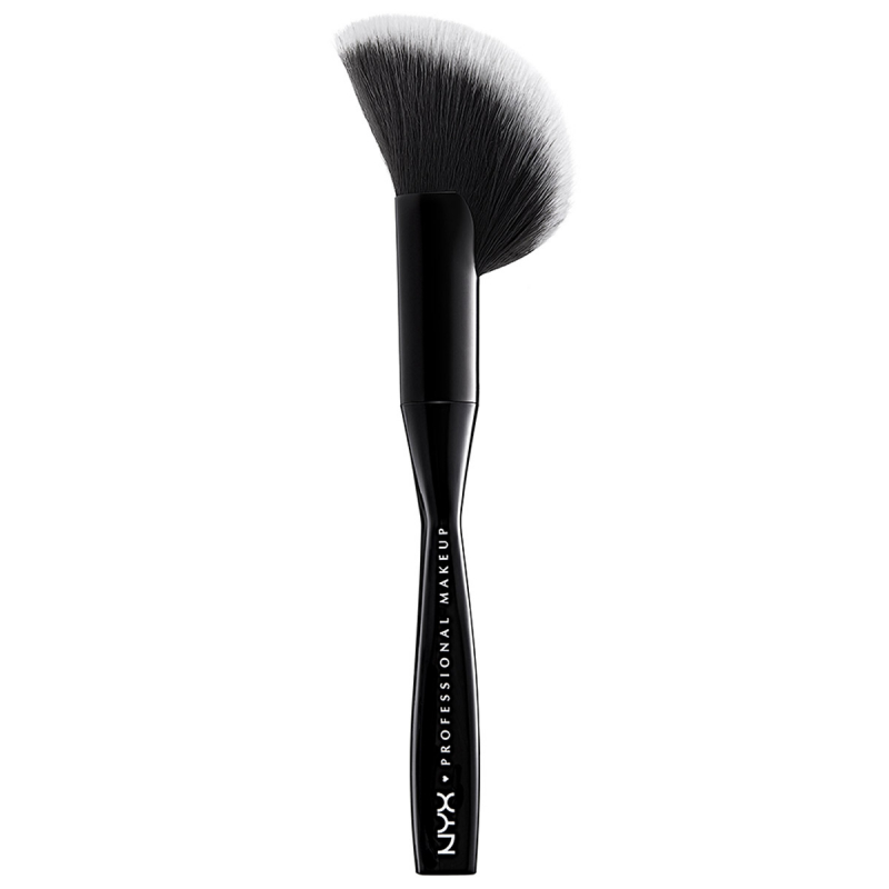 NYX Professional Makeup Face & Body Brush ryhmässä Meikit / Meikkisiveltimet / Contouring-siveltimet at Bangerhead.fi (B052735)