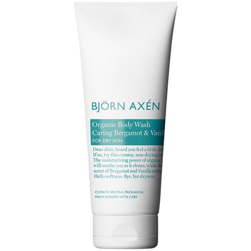 Björn Axén Organic Body Wash Caring Bergamot & Vanilla (250ml) i gruppen Kroppspleie  / Kroppsrengjøring og skrubb / Dusjsåpe hos Bangerhead.no (B053000)