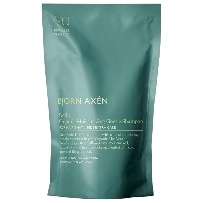 Björn Axén Refill Organic Moisturizing Gentle Shampoo (250ml) i gruppen Hårpleie / Shampoo & balsam / Shampoo hos Bangerhead.no (B053001)